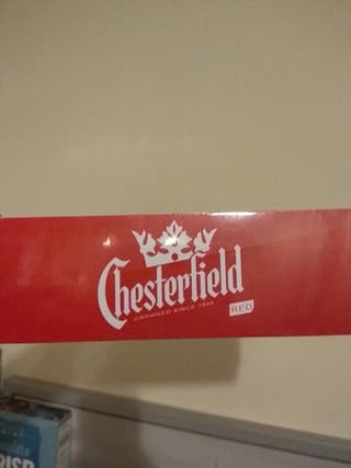 tobacco cigarretes chesterfield red box 10 packs