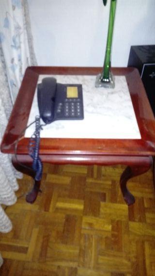Mesa vintage mármol