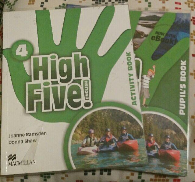 Inglés cuarto de primaria High Five Macmillan de segunda mano por 10 ...