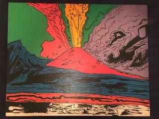 Replica Vesuvius Andy Warhol cuadro napoli
