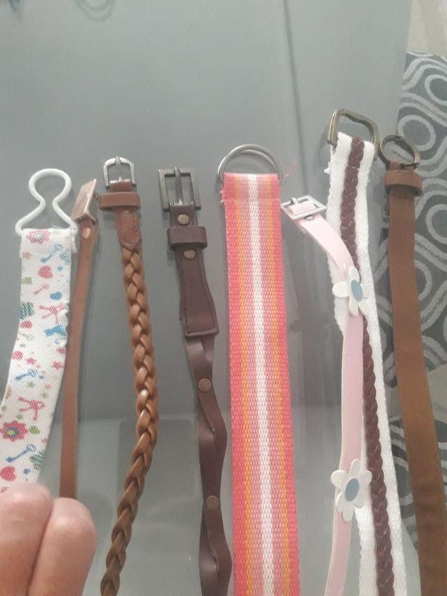 Cinturones de niña