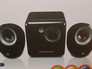 altavoces conceptronic 2.1 nuevos en caja
