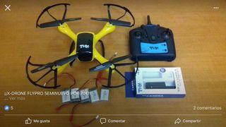 Xdrone fly pro con 5 baterias y camara HD