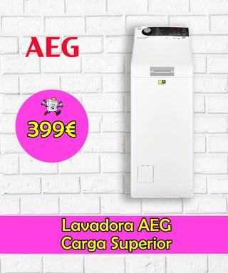 Lavadora AEG carga superior 7kg A+++