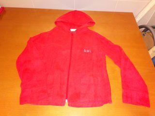 Chaqueta lino roja talla 8
