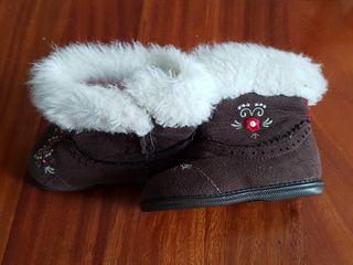 botas invierno niña