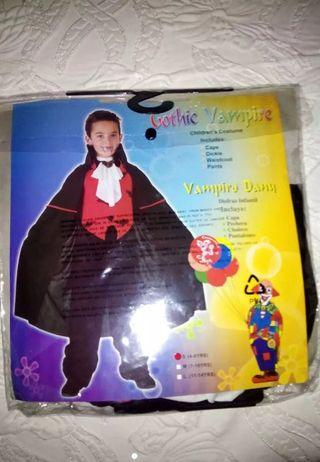 disfraz vampiro Halloween