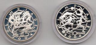 Estuche Monedas 2003 San Marino 5 y 10 Euros