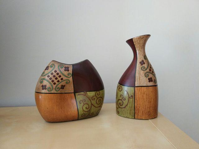 Jarrones Ceramica Decoracion De Segunda Mano Por 10 En Alcobendas - Jarrones-decoracion