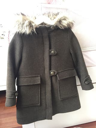 5 20 Zara Abrigo De Talla Por Segunda Niña Mano FqFwta