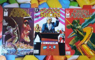 3 comics dc.