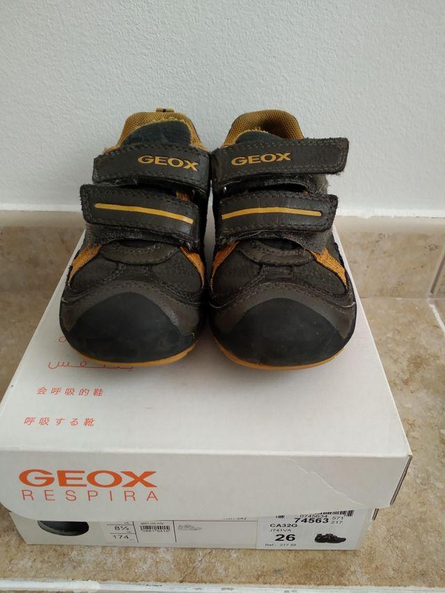 Apariencia sección Dislocación  Zapatos geox talla 26 de segunda mano por 9 € en Olesa de Montserrat en  WALLAPOP