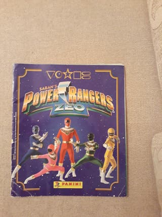 Album power rangers zeo