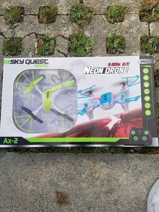 Neon drone