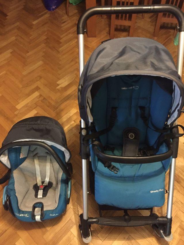 Trio streety bebe confort azul
