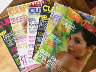 Lote revistas Cuerpomente 100 ejemplares