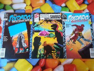 3 comics .
