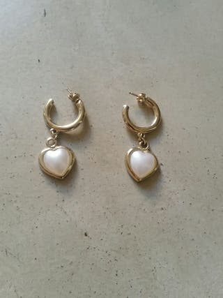 4233906a6b1c Pendientes de oro de segunda mano en Sitges en WALLAPOP