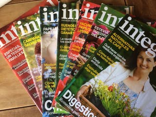 Lote revistas Integral 100 ejemplares