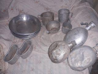 platos/vasos de la guerra