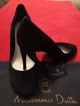 zapatos de tacones Mássimo dutti