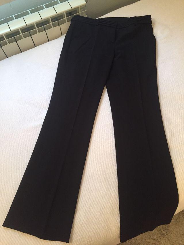 Pantalón Negro De Vestir De Segunda Mano Por 10 En