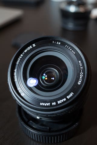 Sigma 24mm f2.8 Super-Wide II