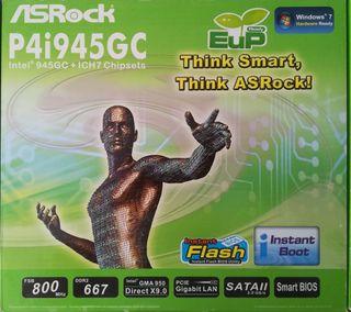 Placa Base Asrock P4i945GC Socket 478 a estrenar