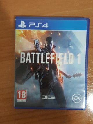 BATTLEFIELD 1 PS4 PlayStation 4