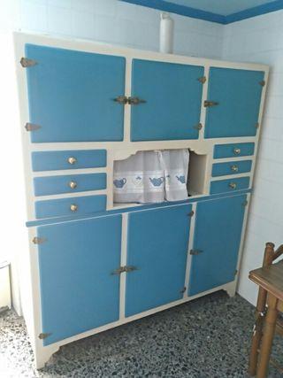 armario cocina vintage