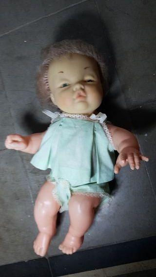 muñeca bebe muñeco años 60 -70