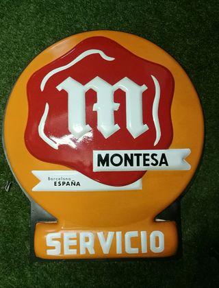 Cartel Montesa Servicio