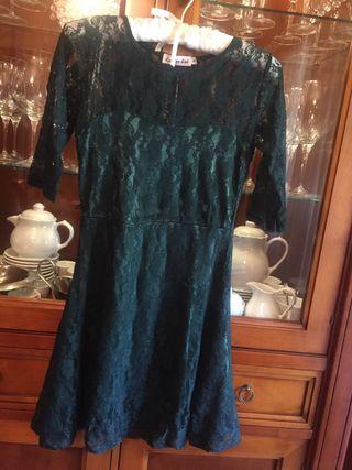 Vestido SIN ESTRENAR, encaje mujer (etiquetado)