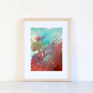 cuadro abstracto original Nasa Project 2.0