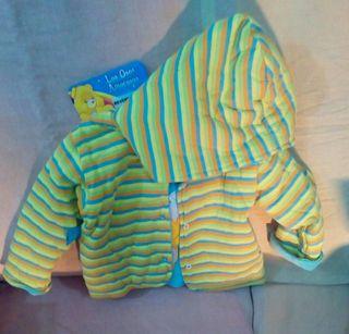 chaqueta reversible los osos amorosos talla 16