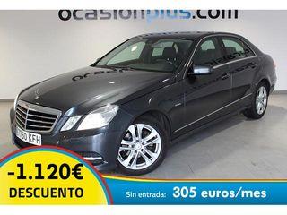 Mercedes-Benz Clase E E 200 CDI Avantgarde 100 kW (136 CV)