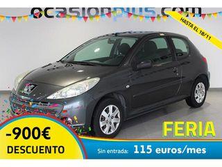 Peugeot 206+ 1.1i 44kW (60CV)