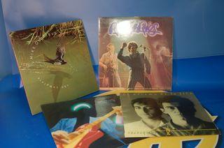Lote 4 Vinilos discos Lps.descatalogados AÑOS 80