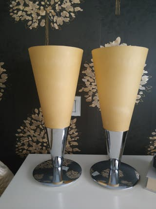 Pack dos lamparas de sobremesa