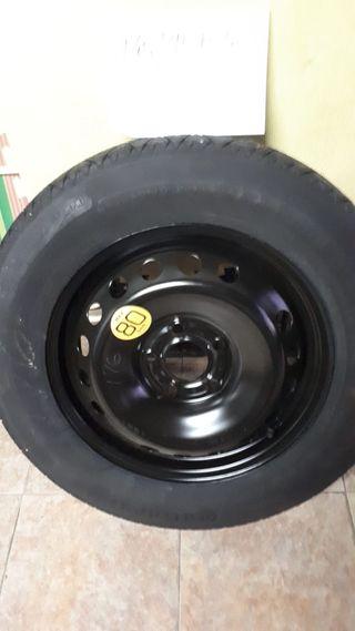 gato Nissan Juke 16/'/' rueda de repuesto soporte de la rueda
