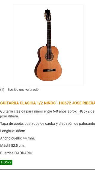 GUITARRA NIÑ@ JOSE RIBERA