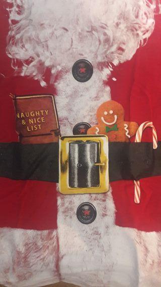 papá Noel . Santa claus. camiseta divertida mujer