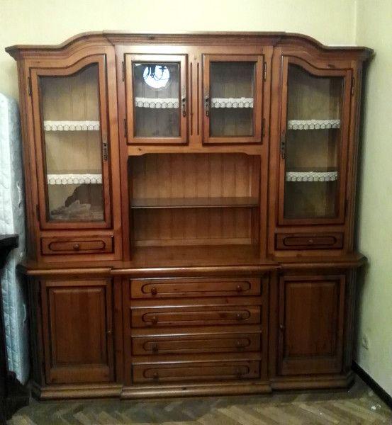 Mueble r stico vitrinas madera madrid de segunda mano por - Mueble rustico segunda mano ...