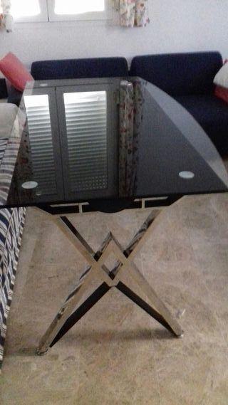 Mesa despacho cristal de segunda mano en sevilla en wallapop - Mesas despacho segunda mano ...