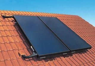 Placas solares para calefacción y calentar agua