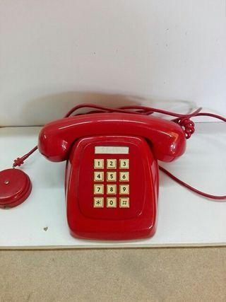 teléfono de botonera retro