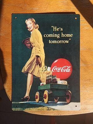 Chapa Coca Cola Retro