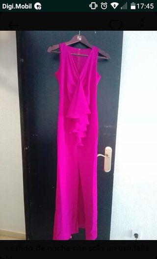 vestido largo bugambilla