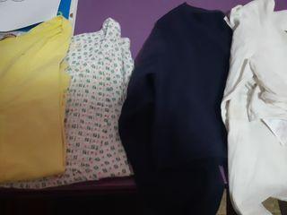 Lote de camisa y tres chaquetas niña talla 8
