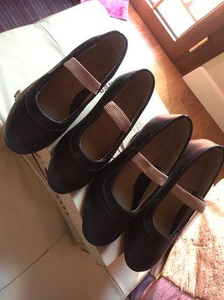 Zapatos profesionales de baile